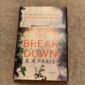 Other - The Break Down book bestseller hardcover